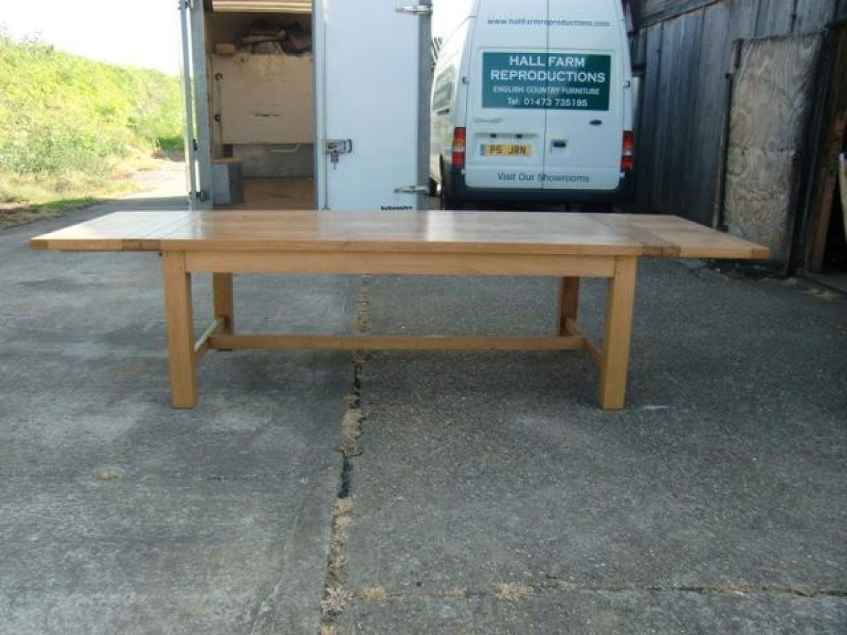 Bespoke Contemporary Dining Table Handcrafted in Suffolk