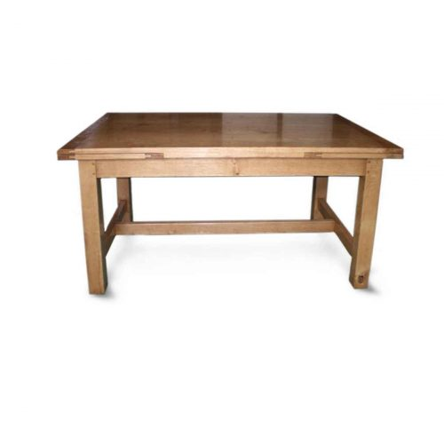 Bespoke Contemporary Draw-Leaf Table Handcrafted in Suffolk
