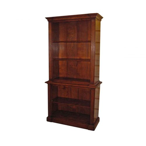 Bespoke Derby 2 Piece Bookcase Handcrafted in Suffolk