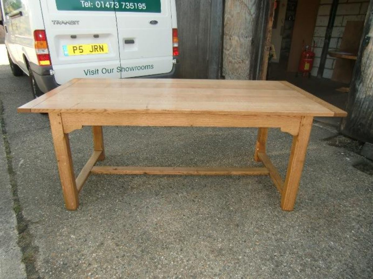 Bespoke French Farmhouse Table Handcrafted in Suffolk