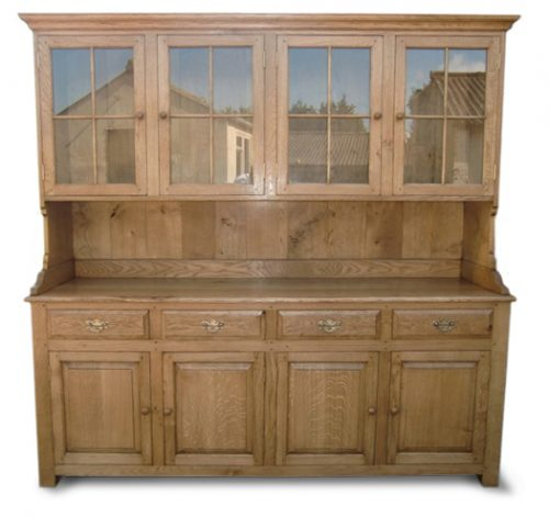 Bespoke Kitchen Display Dresser  Handcrafted in Suffolk