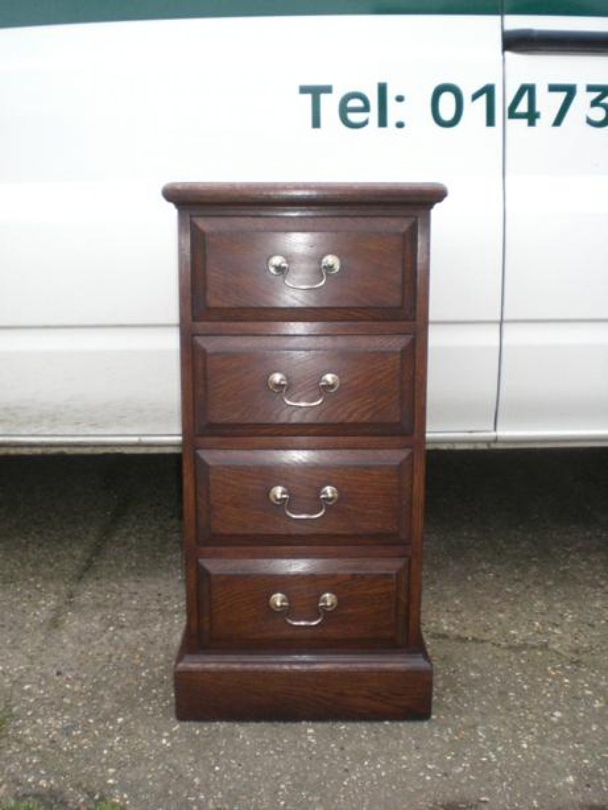 Bespoke Tower Chest of Drawers Handcrafted in Suffolk