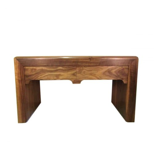 Bespoke American Black Walnut Side Table Handcrafted in Suffolk