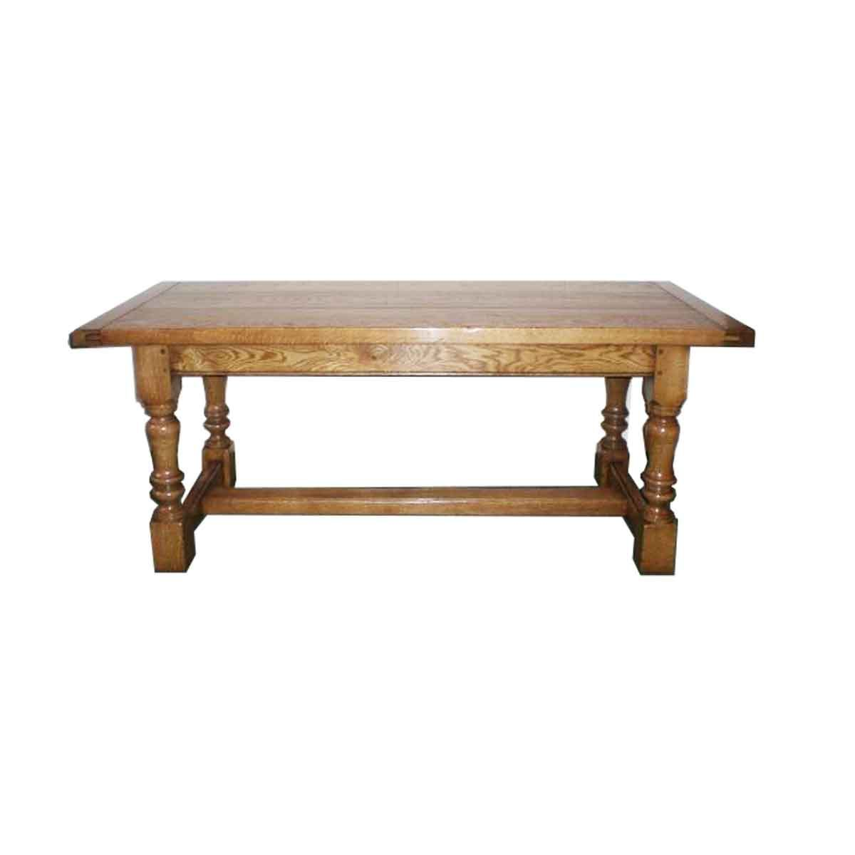 Bespoke Baluster Refectory Table Handcrafted in Suffolk