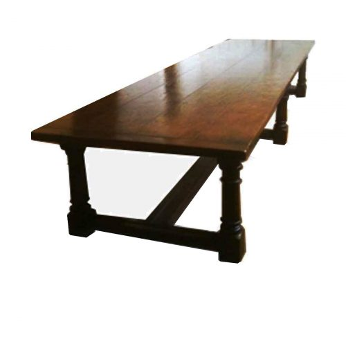 Bespoke Early Stuart Refectory Table Handcrafted in Suffolk