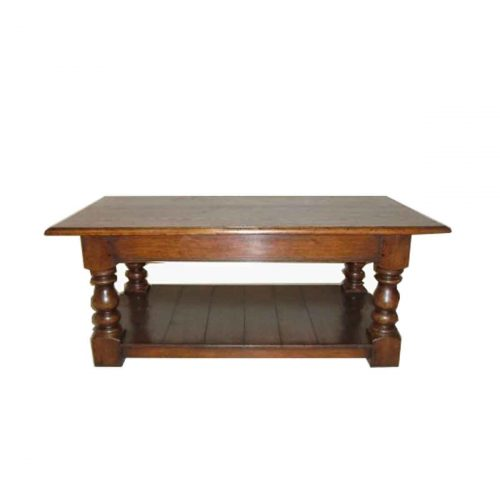 Bespoke Refectory Coffee Table Handcrafted in Suffolk