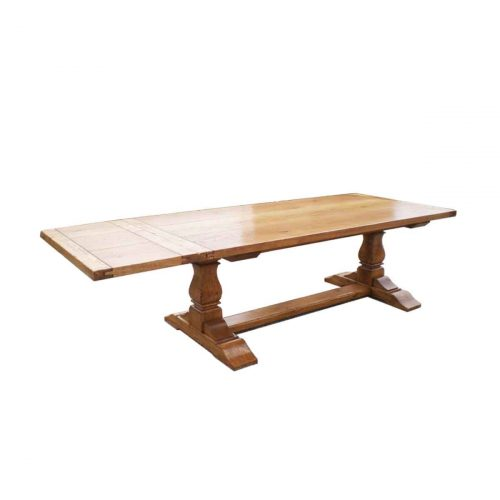 "Bespoke 6"" Leg Square Cut Refectory Table Handcrafted in Suffolk"