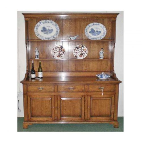 3d 3dr Welsh dresser and plain rack