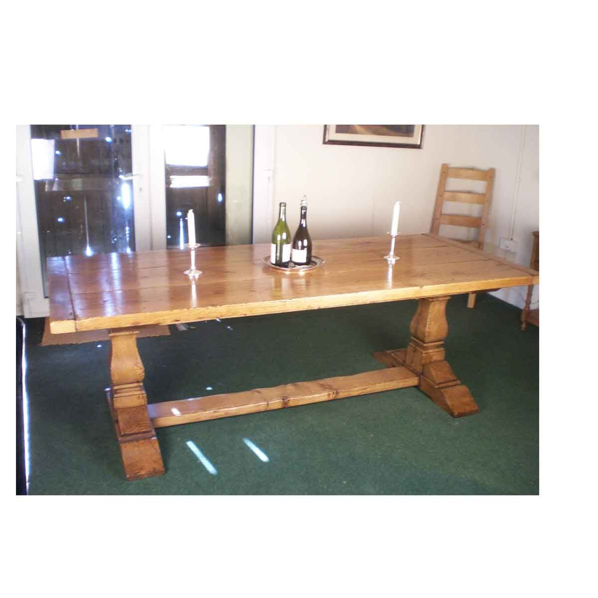 A Square cut refectory table.