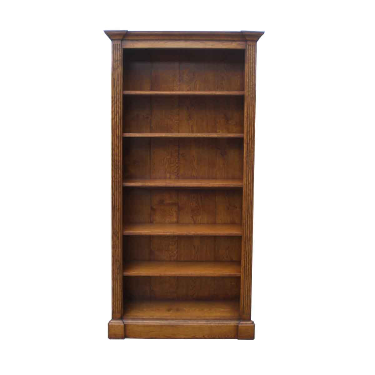Bespoke Avon Broken Moulding Bookcase Handcrafted in Suffolk