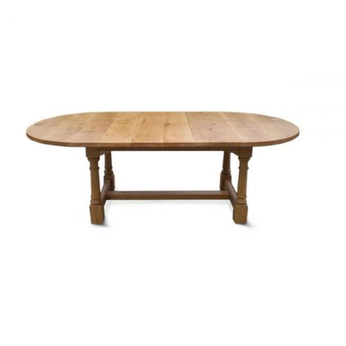 Bespoke D-End Refectory Table Handcrafted in Suffolk