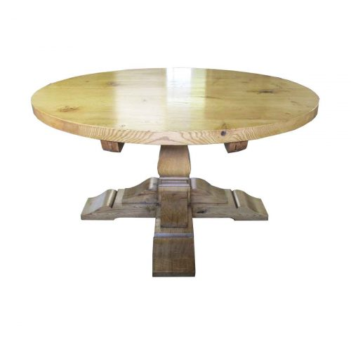 Bespoke Extending Round Square Cut Table Handcrafted in Suffolk