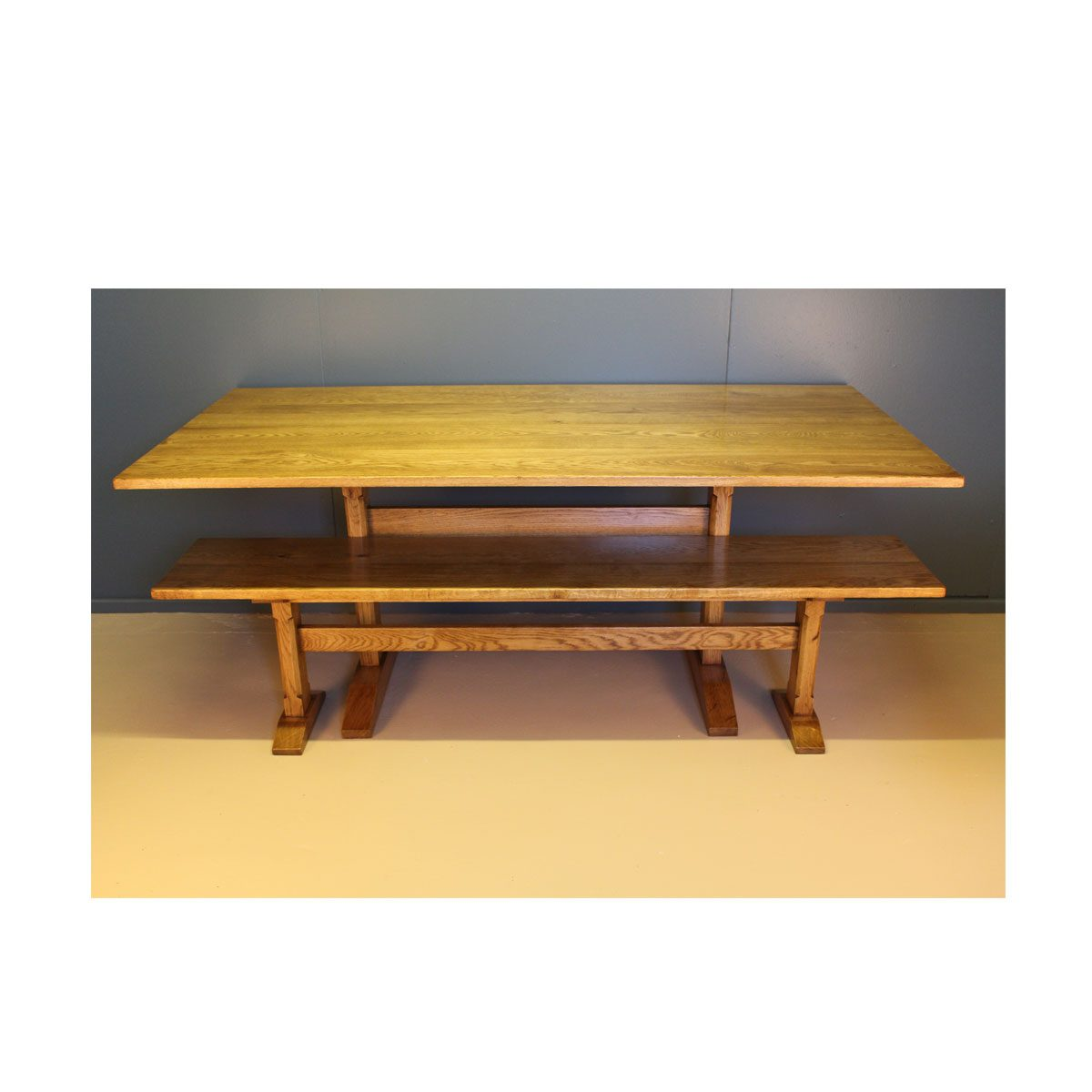 Bespoke Rutland Dining Table Handcrafted in Suffolk